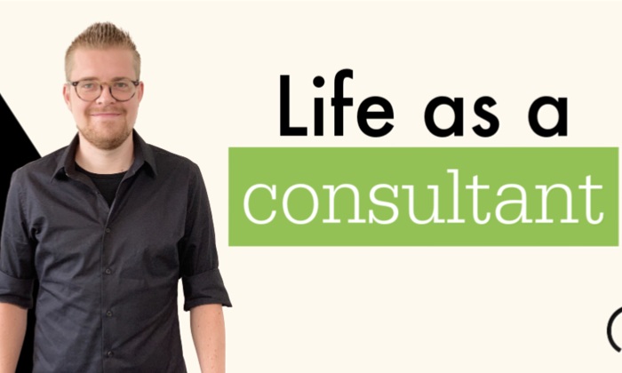 Life as a consultant